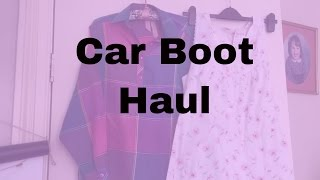 Carboot Haul To Sell On eBay. Clothes, Shoes, GHDs & Laura Ashley Wall Paper