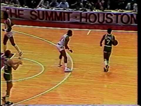 Houston   Boston NBA Finals 1981,game 3