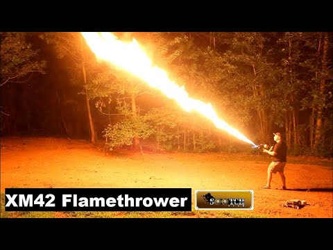 XM42 Flamethrower Epic and Legal to Own!