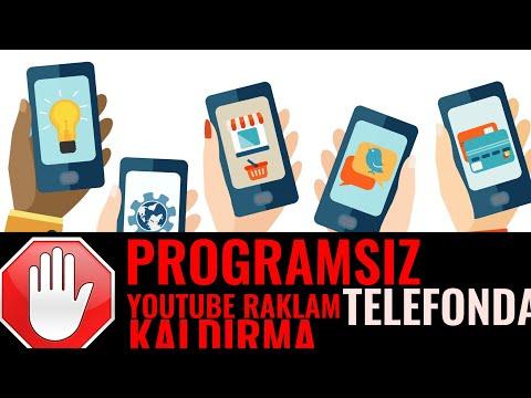 PROGRAMSIZ TELEFONDAN YOUTUBE REKLAMLARI KALDIRMA | 2019