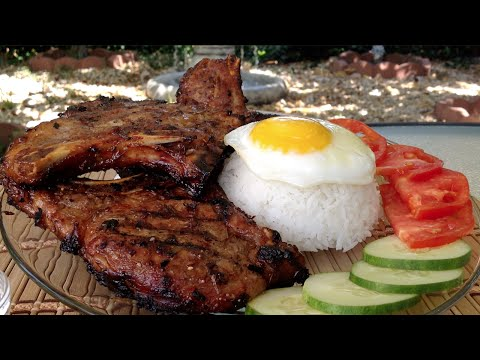 How To Grill Lemongrass Pork Chops-Vietnamese Food Recipes
