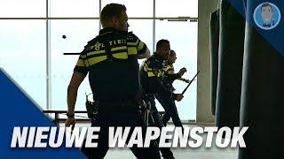 Politie nieuwe WAPENSTOK.  Politievlogger Jan-Willem