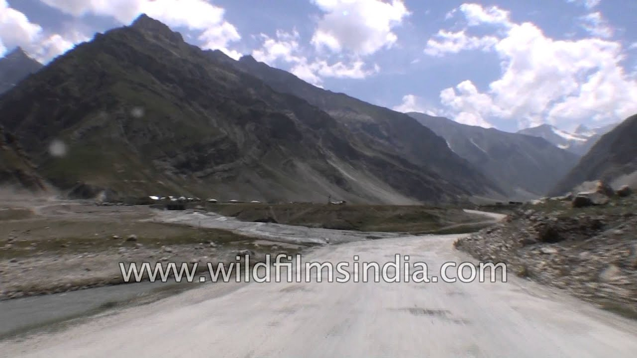 Driving from Dras to Matayen village in Kargil district - Part 5