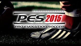 PES 2015 - AMD 8670M 1GB - GAMEPLAY -BENFICA VS BARCELONA - 720p