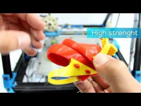 Filaflex promotional video Recreus 3d Printing