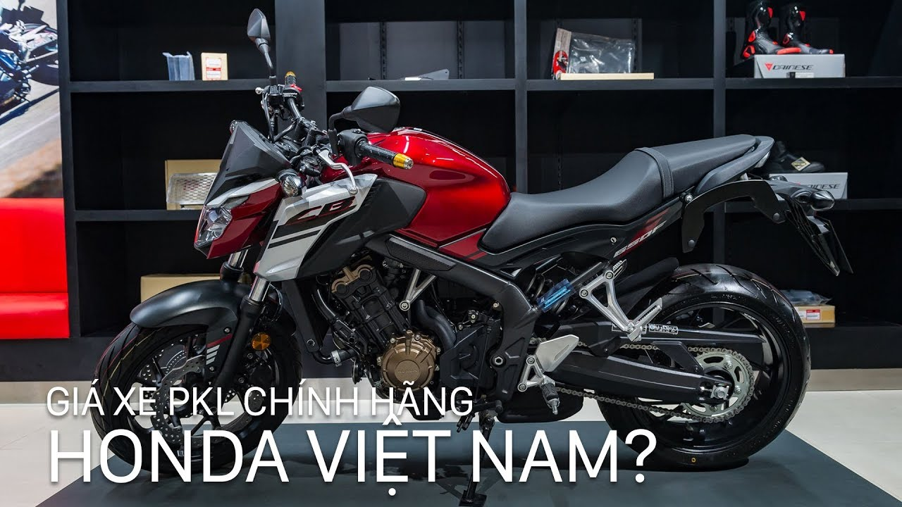 Giá xe phân khối lớn chính hãng Honda ở Việt Nam tốt như thế nào? | Xe.tinhte.vn
