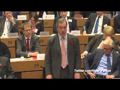 Farage to Merkel (Germany): Tell Cameron, Time for UK to leave EU - Unchain The Shackles!