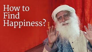Finding happiness isn't magic – it's just chemistry! Sadhguru expla...