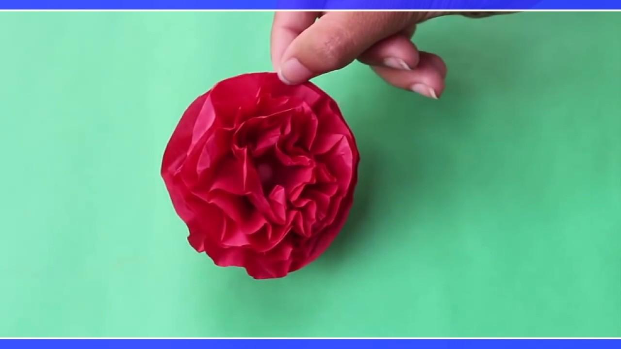 Crush Paper To Make Flowers In Hindi