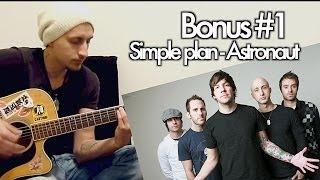 show MONICA Bonus #1 - Simple plan - Astronaut (Как играть видео урок)