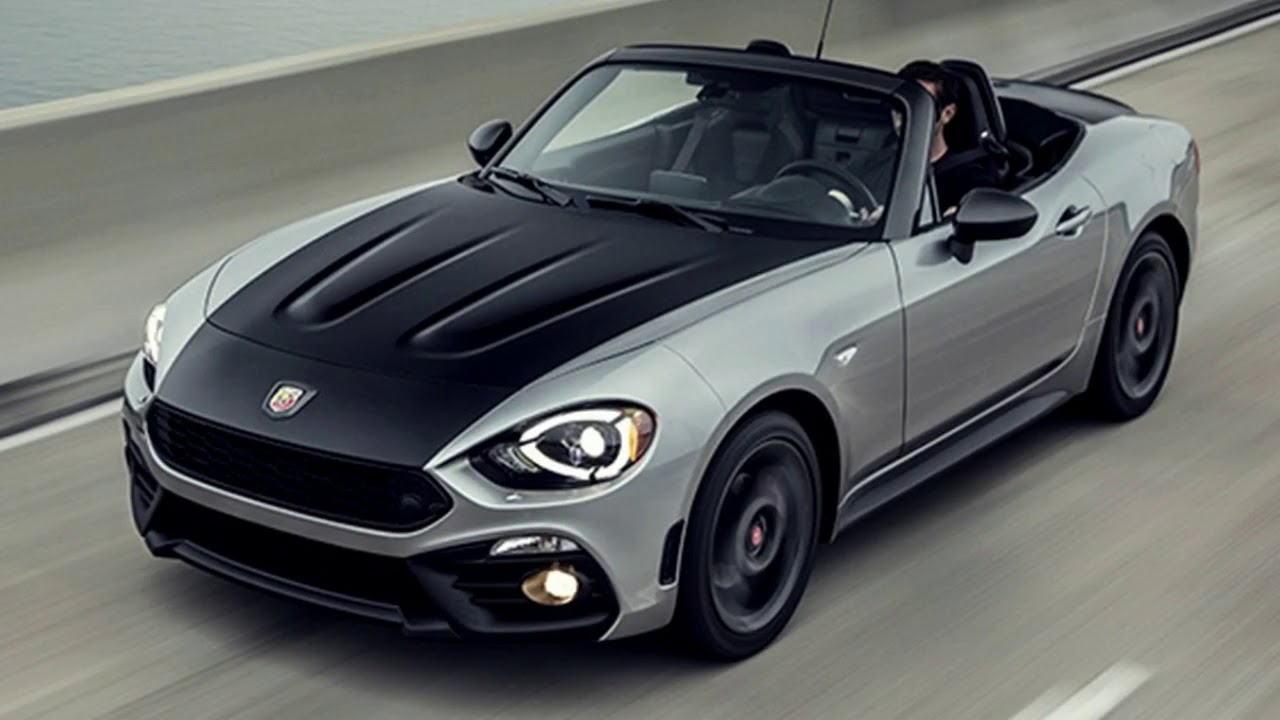 2019 Fiat 124 Spider Abarth Is A Very Hot Sportfishing Car Youtube