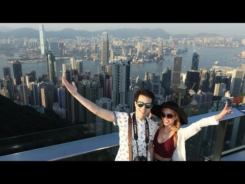 Travel to Victoria Peak Hong Kong