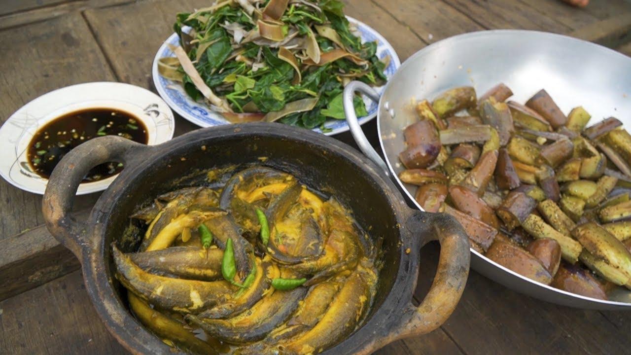 Cá Chạch Kho Nghệ ● Bữa Cơm Chiều trên Sông Nước Miền Tây   Nét Quê #123
