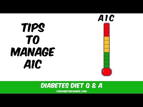 What May Keep You From Your A1C Goals: Keep A1C Levels in Control