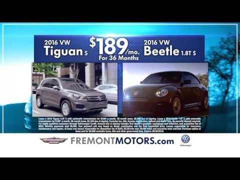 Fremont Volkswagen, Model Year End Extended