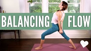 Video Balancing Flow - Yoga With Adriene download MP3, 3GP, MP4, WEBM, AVI, FLV Maret 2018
