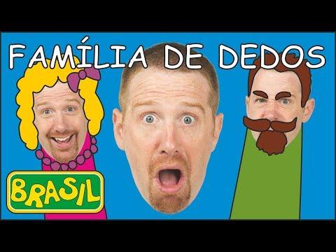 sorvete-e-família-de-dedos-|-steve-and-maggie-|-histórias-para-crianças-com-steve-and-maggie-brasil
