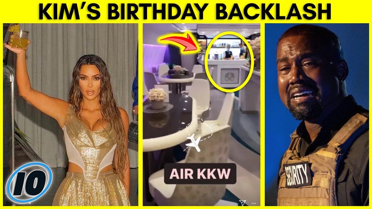 Kim Kardashian Birthday Backlash, Kanye West Claps Back at Jennifer Aniston