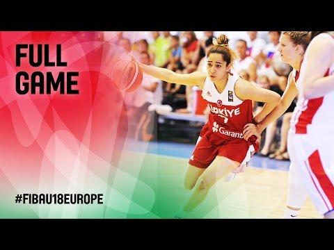 Czech Republic v Turkey - Full Game - R 16 - FIBA U18 Women's European Championship 2016