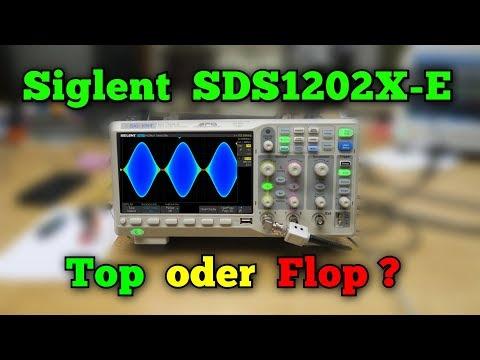 Oszilloskop Siglent SDS1202X-E : Billig oder preiswert ?