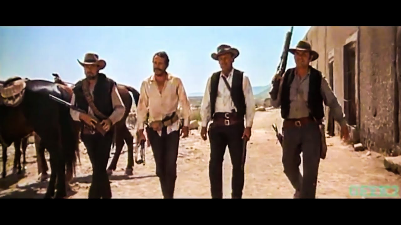 quotthe walkquot in the classic western movie the wild bunch