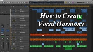 Creating Vocal Harmony in Logic Pro X