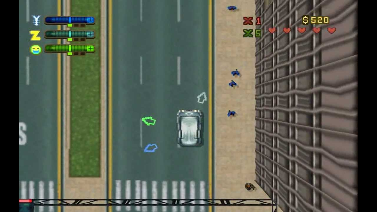 PSX Grand Theft Auto 2 GamePlay HQ - YouTube