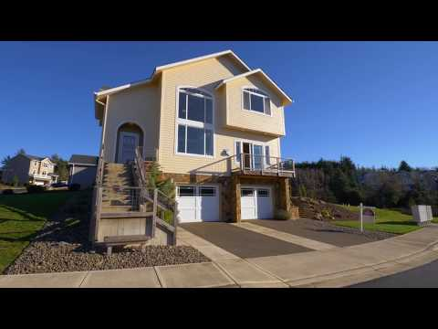 Gorgeous Ocean View Home on the Oregon Coast ~ Video of 1525 Ocean Highlands