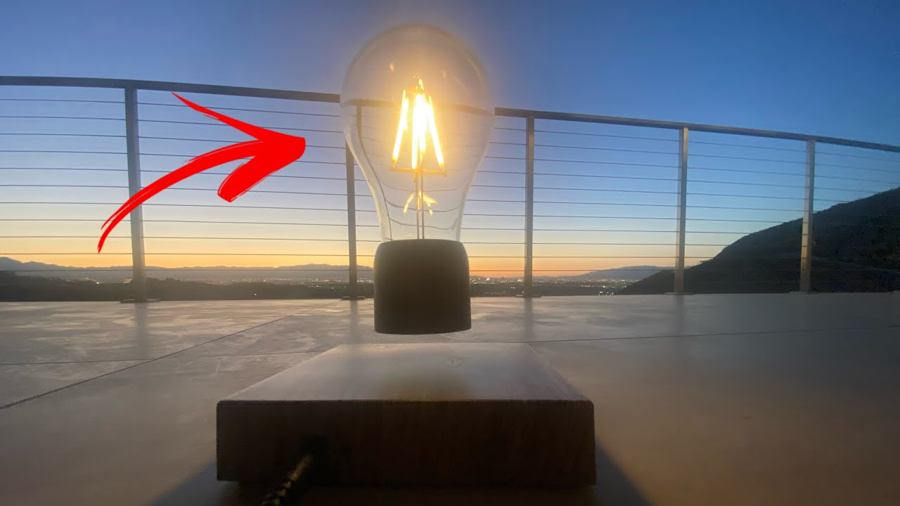 This FLOATING LIGHTBULB Will Blow Your Mind.. #Shorts