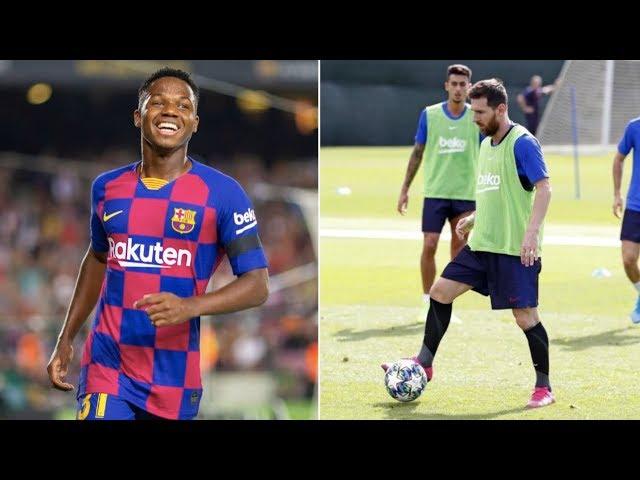 Barcelona News Round-Up ft Lionel Messi & Ansu Fati