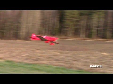 RC FLIGHT GREAT PLANES COSMIC WIND BALSA MODEL WINTER FLYING FUN