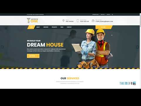 Constractor One Construction And Home Renovation Drupal 8