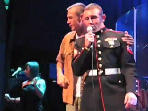 SHOCK and AWE NO!....USMC Ashley Rodney getting hammered and getting applause for Karaoke Madness...