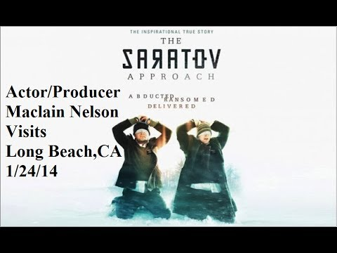 The Saratov Approach 2013 ActorProducer Maclain Nelson Visits Long Beach,Ca 12414