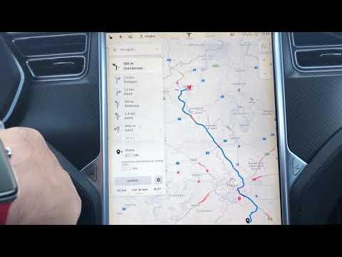 "#64 Tesla Model X Spotřeba (22"" kola) | Teslacek"