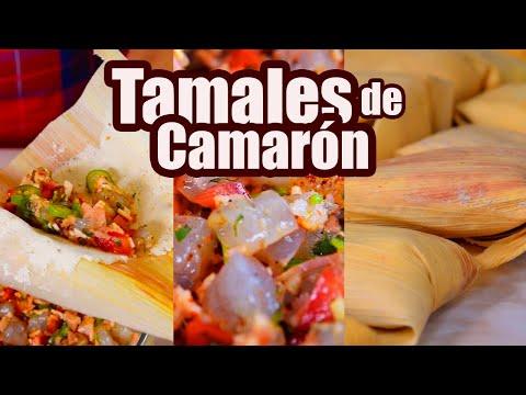 TAMALES de CAMARÓN | Receta Sencilla | TOQUE Y SAZÓN