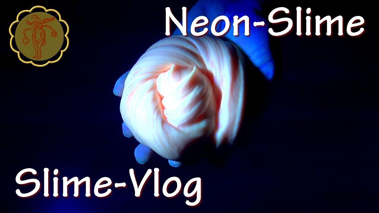 how to make neon slime