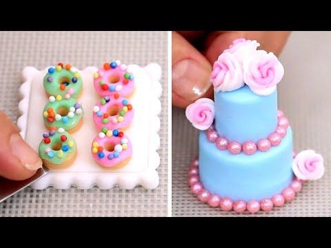 Amazing Miniature Cakes & Food  COMPILATION!