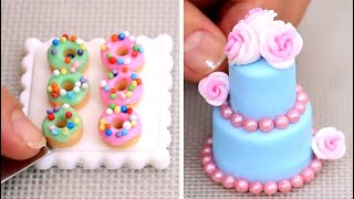 Amazing Miniature Cakes & Food  COMPILATION! ミニチュア工芸
