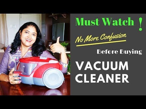 How To Use Vacuum Cleaner At Home / Review LG Vacuum Cleaner