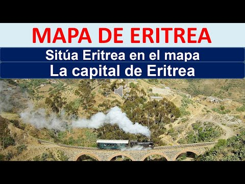Mapa de Eritrea. Capital de Eritrea. Donde esta Eritrea