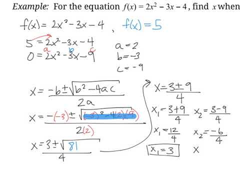 Mcr3 U Book 3 Quadratic Functions - Lessons - Tes Teach