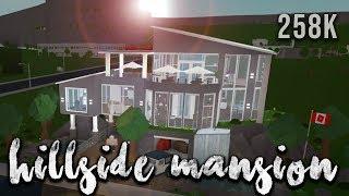Roblox | Welcome to Bloxburg: Hillside Mansion | Speedbuild