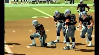 NFL GAMEDAY 2004/ RAIDERS vs VIKINGS PT.1 [PS2] [HD]
