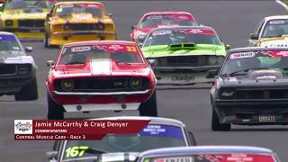 Hampton Downs -  Central Muscle Cars + Fast & Furious Highlights