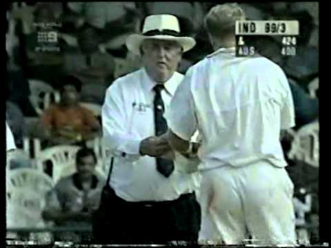 Rahul Dravid, Sachin Tendulkar, Mohammad Azharuddin vs Australia 1998