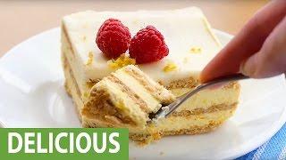 How to make lemon icebox cake