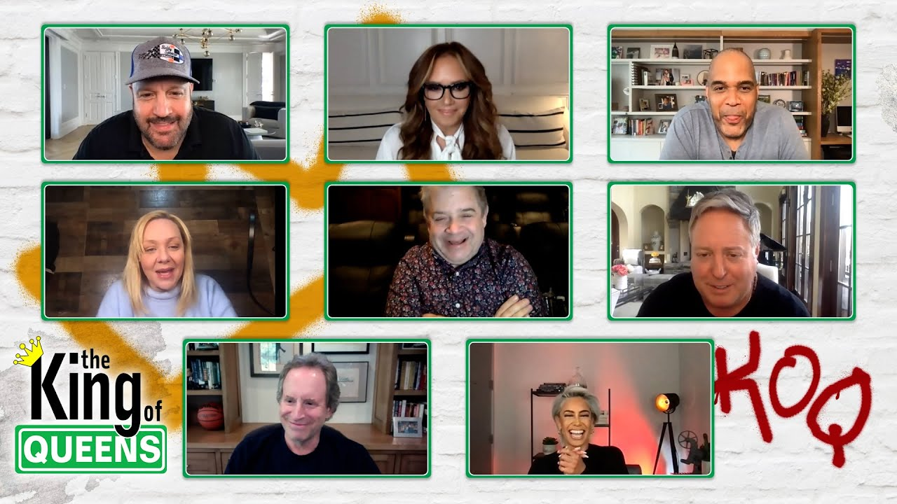 (OFFICIAL) THE KING OF QUEENS REUNION - FULL CAST TABLE READ | Q&A | TRIBUTE TO JERRY STILLER