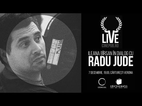Cinepub Live: O discuție cu Radu Jude, moderată de Ileana Bîrsan