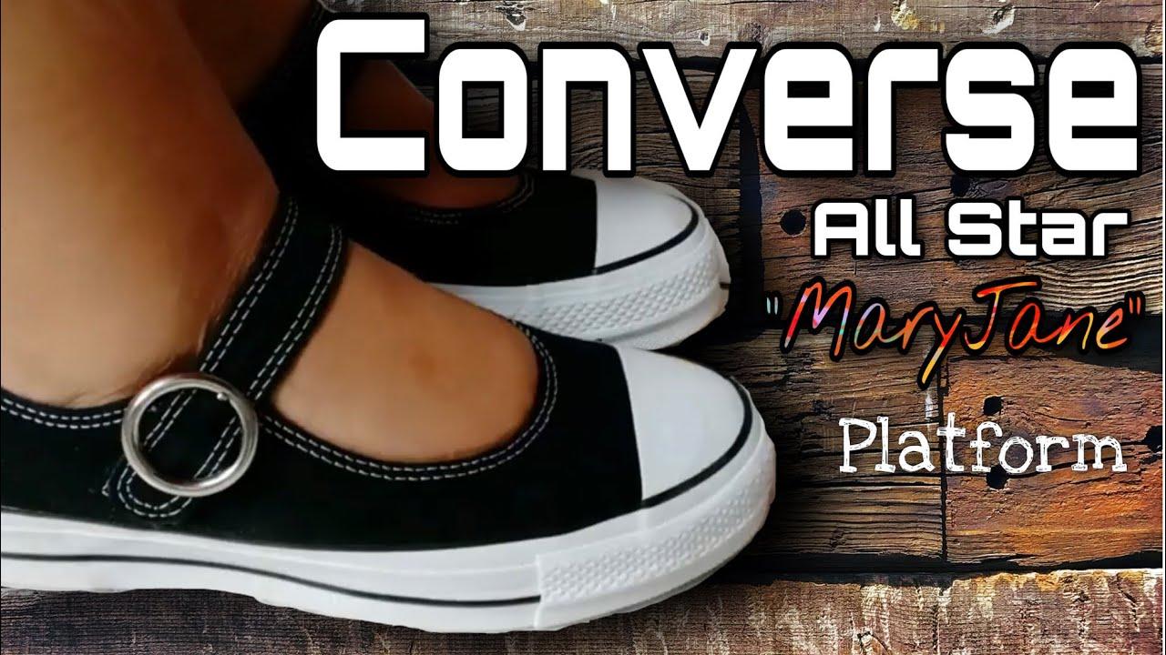 Star Mary Jane platform #converse